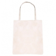 Fashion shopper bag Cream Beige