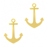 Bohemian charms Anchor Gold