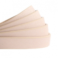 10 mm flt faux leather Metallic-Vintage Light Pink