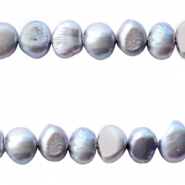Freshwater pearls nugget 7-8mm Grey
