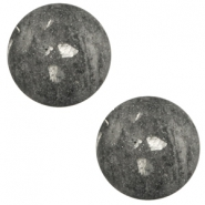 20 mm classic Polaris Elements cabochon Rockstar Anthracite Grey