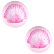 Basic cabochon 20mm Shell-Pink