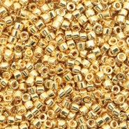 Miyuki beads delica's 11/0 24kt Gold Plated