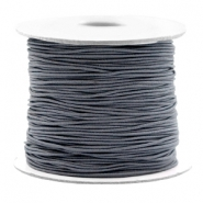 Coloured elastic cord 0.8mm Cool Grey