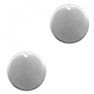 Charms stainless steel 18mm Silver