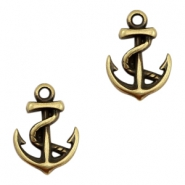 DQ European metal charms anchor Antique Bronze (nickel free)