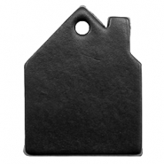 DQ European leather pendants house Midnight Black