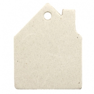 DQ European leather pendants house Off White