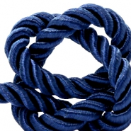 Trendy cord weave 10mm Dark blue