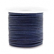 Benefit package DQ leather round 2 mm Dark Blue
