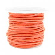 Benefit package DQ leather round 2 mm Antique Orange