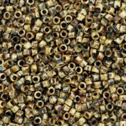 Miyuki beads delica's 11/0 Opaque Picasso Brown DB-2267