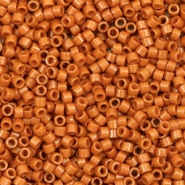 Miyuki beads delica's 11/0 Duracoat Opaque Dyed Persimmon Brown DB-2108