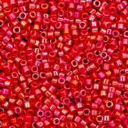 Miyuki beads delica's 11/0 Opaque Luster Red DB-214