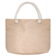 Fashion Beach bag Beige