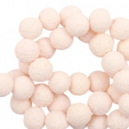 Katsuki beads/Lava 10mm Almond Cream Peach