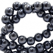 8 mm glass beads full colour Black Pearl Coating
