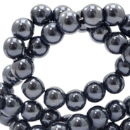 6 mm glass beads full colour Black Pearl Coating