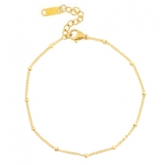 Anklets / Ankle bracelets Stainless steel ball Gold