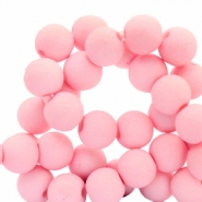 8 mm acrylic beads Pink
