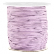 Macramé bead cord 1.0mm Lila Purple