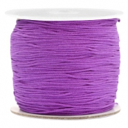 Macramé bead cord 0.7mm Soft Grape Purple