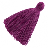 Tassels basic 3cm Aubergine Purple