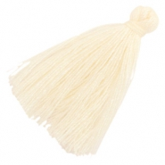 Tassels basic 3cm Cream Beige