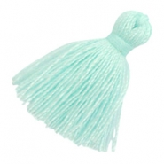 Tassels basic 2cm Light Turquoise Blue