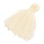 Tassels basic 2cm Cream Beige