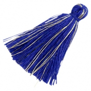 Tassels basic goldline 3cm Royal Blue