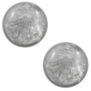 7 mm classic Polaris Elements cabochon Lively Light Grey