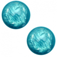 12 mm classic Polaris Elements cabochon Lively Persian Green