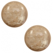 7 mm classic Polaris Elements cabochon Lively Colonial Brown