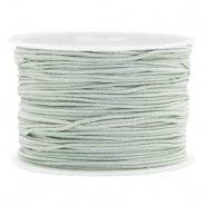 Macramé bead cord 1.0mm Cameo Green