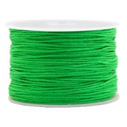 Macramé bead cord 1.0mm Kelly Green