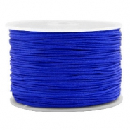 Macramé bead cord 1.0mm Royal Blue