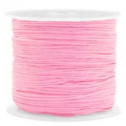 Macramé bead cord 0.8mm Dark Pink