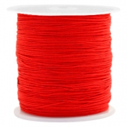 Macramé bead cord 0.5mm Candy Red