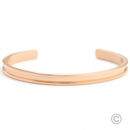 Stainless steel Miyuki exchange bracelets Rose Gold