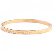 Stainless steel bracelets crocodile Rose Gold