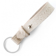 Cuoio key chain Desert Dust Beige
