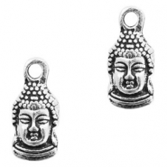 Metal charms Buddha Antique Silver
