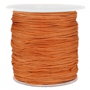 Macramé bead cord 1.0mm Honey Brown