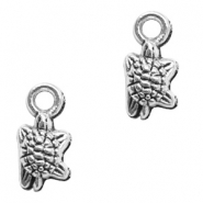 Metal charms turtle Antique Silver