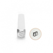 ImpressArt design stamps Established 3mm Silver
