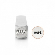 "ImpressArt stemple figury ""Hope"" 6mm srebrny"