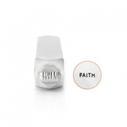 "ImpressArt stemple figury ""Faith"" 6mm srebrny"