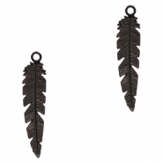 Bohemian charms feather Black