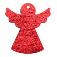 DQ European leather pendants angel Red